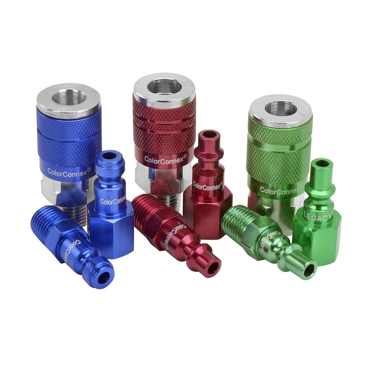 Colorconnex coupler and plugs legacy manufacturing